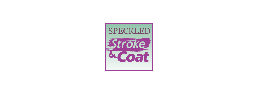 Stroke and coat Speckled